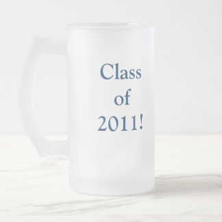 Soaring over the balloons! frosted glass beer mug