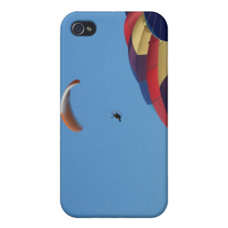 Soaring over the balloons! iPhone 4 cover