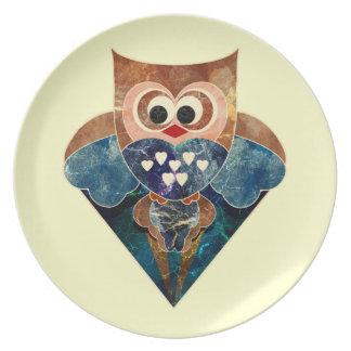 Soaring Owl Plate