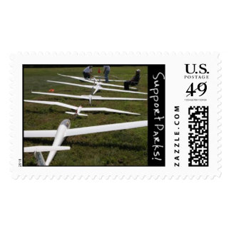 Soaring Postage Stamp