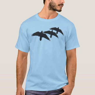 Soaring Raven T-shirts