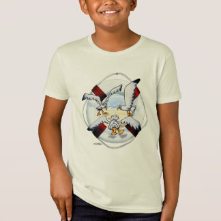 Soaring Sea Gulls T-shirt