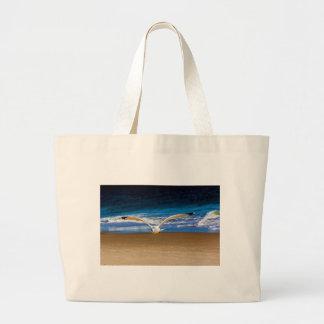 Soaring Seagull Large Tote Bag