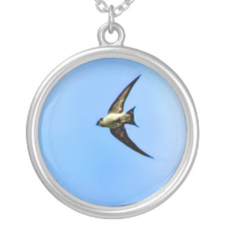 Soaring Sparrow Silver Plated Necklace