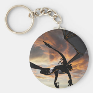 Soaring through the sky keychain