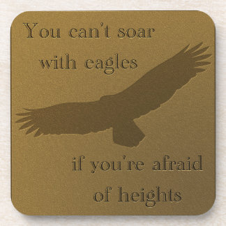 Soaring with Eagles Coaster