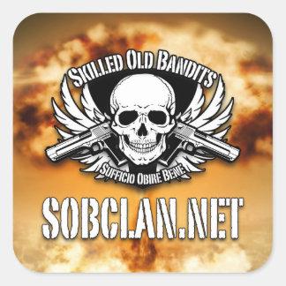 SOB Clan Stickers