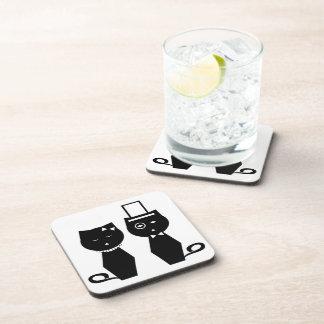 Soba-chan & Udon-kun Coasters