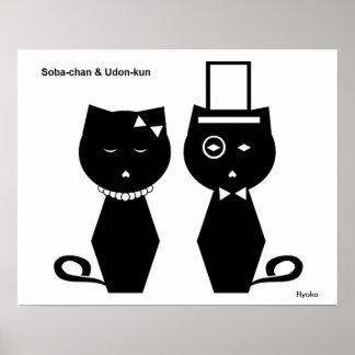 Soba-chan & Udon-kun Poster