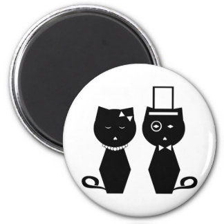 Soba-chan & Udon-kun Round Magnet