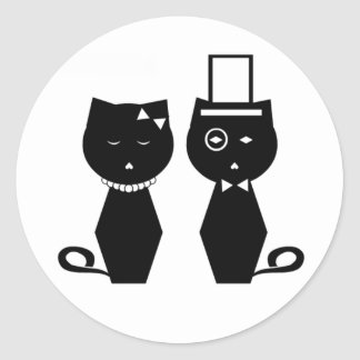 Soba-chan & Udon-kun Round Sticker