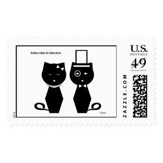 Soba-chan & Udon-kun Stamp