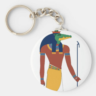 Sobek Crocodile  God Keychain