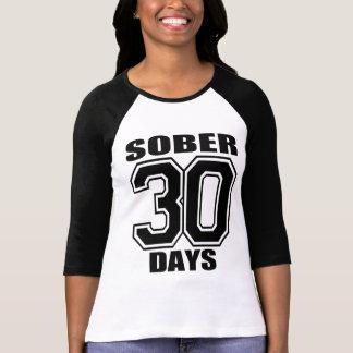 SOBER30 DAYS  BLACK T-Shirt