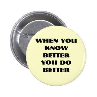 sober, 2 inch round button