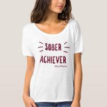 Sober Achiever Slouchy Boyfriend T-Shirt #1