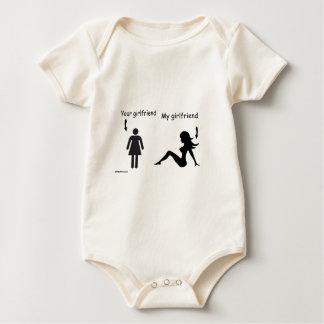 sober and girlfriends baby bodysuit