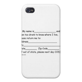 sober and girlfriends iPhone 4 cases