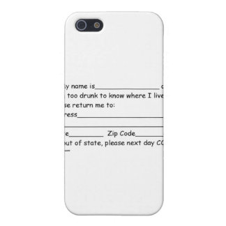 sober and girlfriends iPhone SE/5/5s case