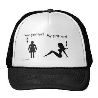 sober and girlfriends trucker hat