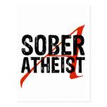 Sober Atheist Post Cards