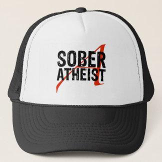 Sober Atheist Trucker Hat