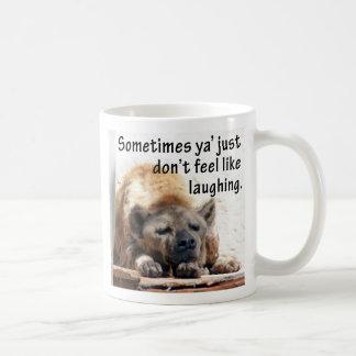 Sober Hyena Mug