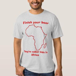 Sober kids in Africa 3 T-Shirt