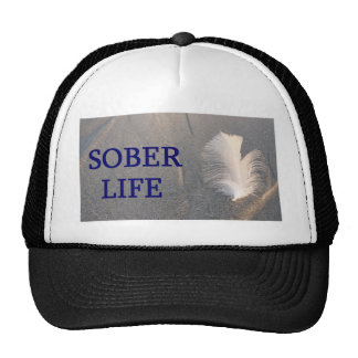 Sober life Feather Trucker Hat