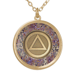 Sober Medallion Coin Pendant Sobriety Recovery AA