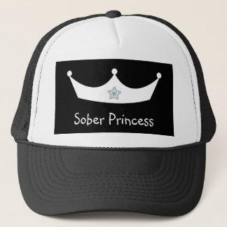 Sober Princess black & white Baseball cap