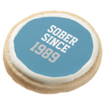 Sober Since Year Round Shortbread Cookie