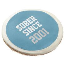 Sober Since Year Sugar Cookie