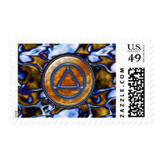 Sober Stamps Postage Sobriety Recovery