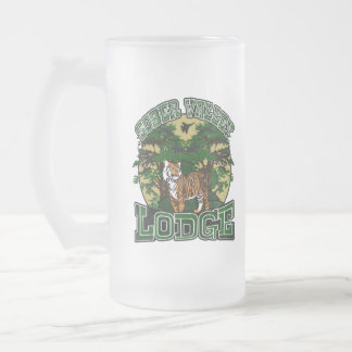 Sober Valley Lodge Frosted Glass Beer Mug