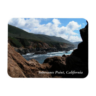 Soberanes Point, California Coastline Flexible Magnet