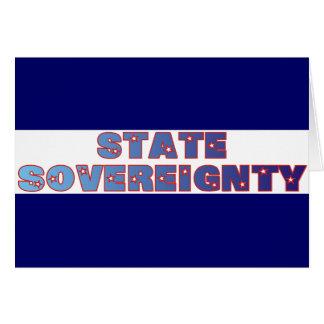 Soberanía del estado tarjetón