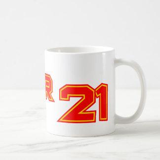 Sobre 21 taza
