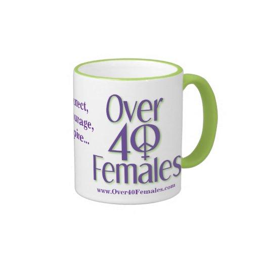 Sobre 40 hembras: Taza
