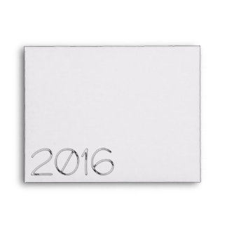 Sobre 4 de la Feliz Año Nuevo 2016 - números del