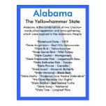 Sobre Alabama Tarjeta Postal