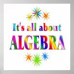 Sobre álgebra - comenzando en $11,80 impresiones