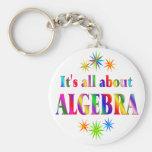 Sobre álgebra llavero