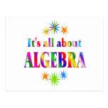 Sobre álgebra postal