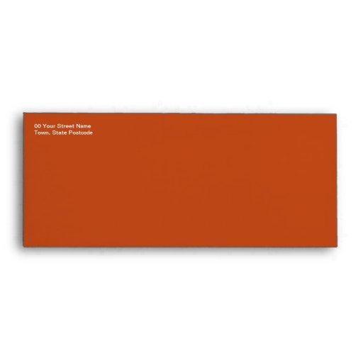 Sobre anaranjado #10 del Gerbera