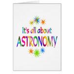 Sobre astronomía felicitaciones