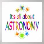 Sobre astronomía impresiones