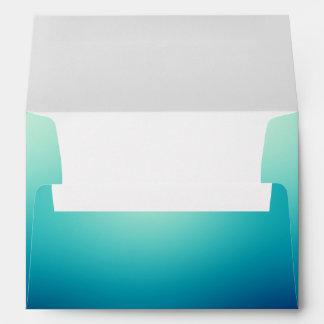 Sobre azul de la turquesa de la aguamarina