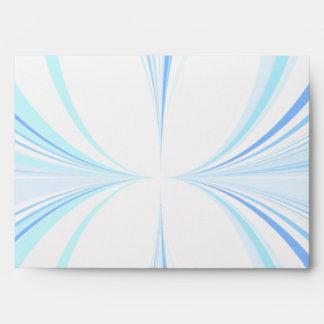 Sobre azul del diseño gráfico del extracto de las