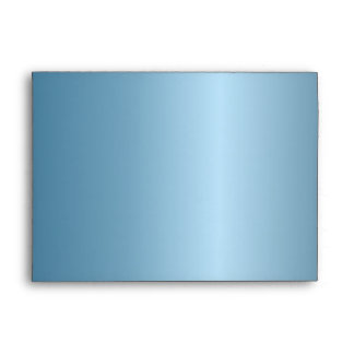 Sobre azul metálico de la invitación de Chevron 5